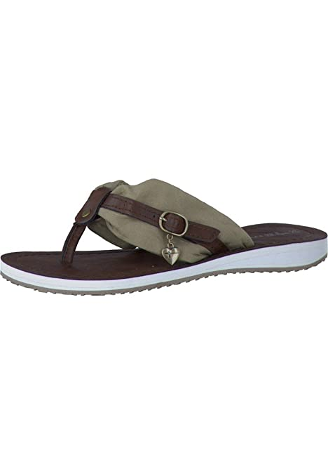 Tamaris 1 27109 26 Schuhe Damen Pantoletten Zehentrenner