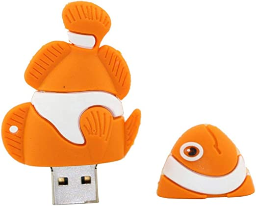 4gb Orange Fische Modell Usb Flash Drive Usb Stick Computer Zubehör