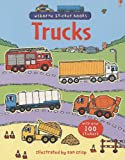 : Trucks (Usborne Sticker Books)