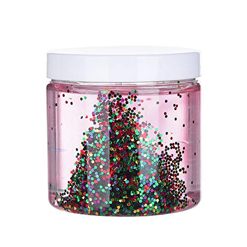 Hisoul Crystal Clay Toy Colourful Sugar Sprinkles Clear Slime Putty Scented Stress Squeeze Clay Toy - Wonderful Slime Toy for Both Boys and Girls (Multicolor)