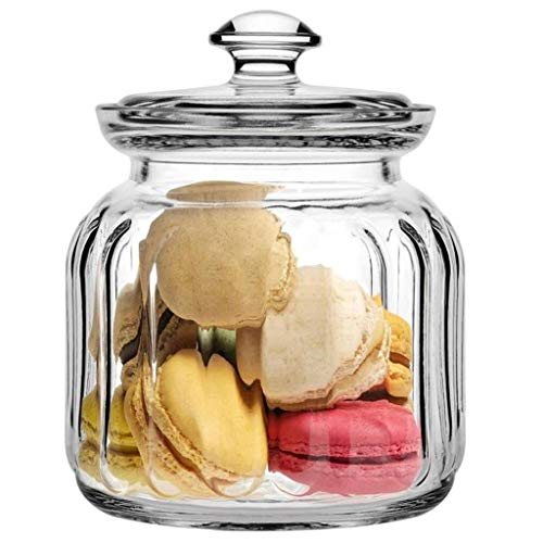 Pure Source India Glass Jar Pickle Jar Storage Container, with Air Tight Glass Lid Set of 1 Pcs .(700 ML Capacity) Price & Reviews
