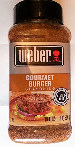 Weber Gluten Free Gourmet Burger Seasoning 19 Oz Super Size