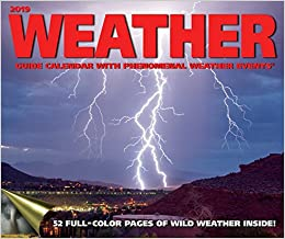 Weather Guide 2019 Wall Calendar Andrews Mcmeel Publishing