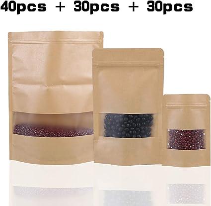 Amazon.com: INHEMI - 100 bolsas de almacenamiento ...