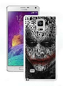 Samsung Note 4 Case,Joker 14 White For Samsung Note 4 Case WANGJING JINDA