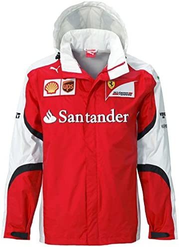 Puma SF Scuderia Ferrari Team Jacket Allwetterjacke rot, Authentic Team M