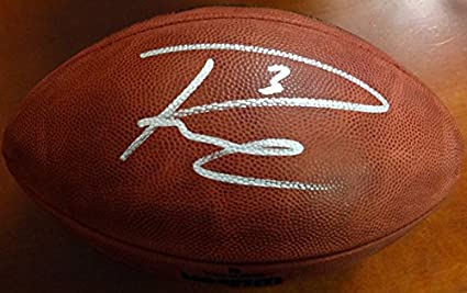 b45909b6ba3 Russell Wilson Autographed Limited Edition SB Leather Football Seattle  Seahawks RW Holo Stock  85992