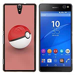 """For Sony Xperia C5 Ultra , S-type Empuje Red"""" - Arte & diseño plástico duro Fundas Cover Cubre Hard Case Cover"""
