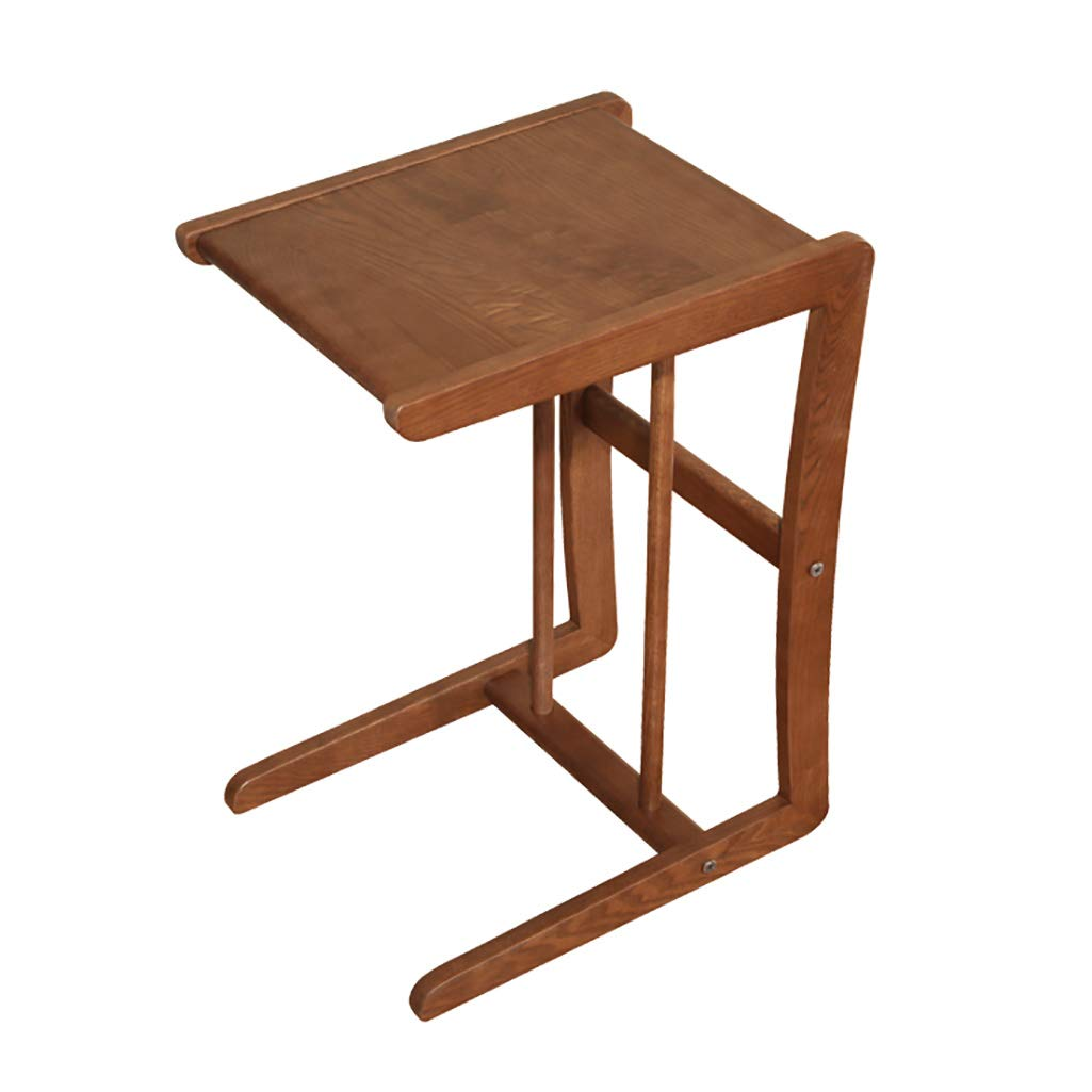 LQQGXLBedside Table Solid Wood Mobile Coffee Table, Modern Minimalist Sofa Table Storage Table Bedside Table Small Side Table by LQQGXL