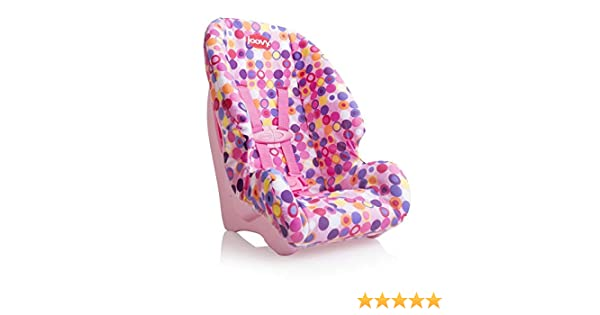 Joovy Doll Toy Booster Seat Dot Pink Dolls