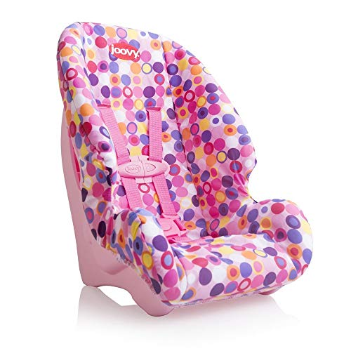 Joovy Doll Toy Booster Seat Dot Pink