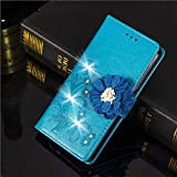 Best Aduro Cases For Iphone 5s - 1 Piece Luxury Glitter Diamond Flower Leather Case Review
