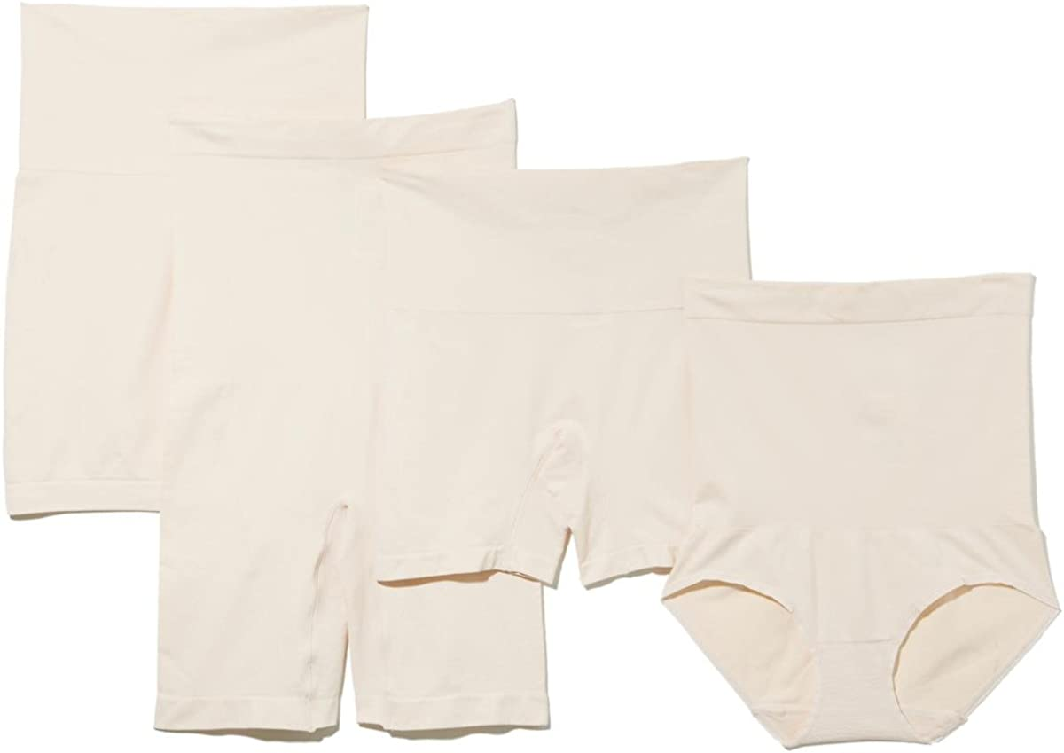 Yummie By Heather Thomson Womens Pack of 4 Seamless Shaping Bottoms