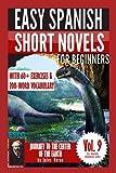 Jules Verne 3: Easy Spanish Short Novels for Beginners: Journey to the Center of the Earth (ESLC Reading Workbooks Series) (Volume 9)