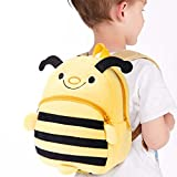 Fheaven Baby Kids Backpack Pack Nursery Small Cartoon Animal Bee School Shoulder Bag