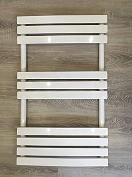 Diseño baño Radiador PUKITA Blanco 788 x 500 mm. calentador toallas: Amazon.es: Bricolaje y herramientas