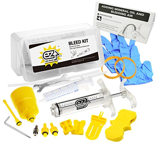 MTB Bike Disc Hydraulic Brake Bleed Kit Set for Shinamo all Series (Mountain Bike Bleed Kit)