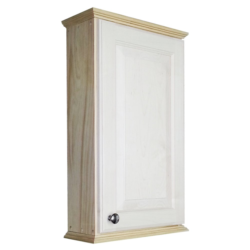 Wood Cabinets Direct 24'' Sadler Series on The Wall Cabinet 3.5'' deep Inside