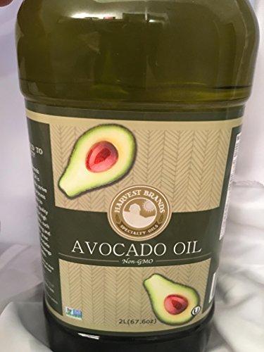 Harvest Brands Non GMO Avocado Cooking, Baking Oil - 2 liter by Harvest Brands (Image #1)