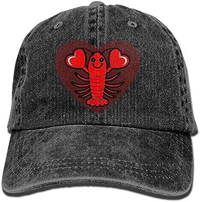 259c8cb381665 Amazon.com   Best For Sports Denim Cap Love Lobster Men Snapback Caps  Washed Denim Cap   Sports   Outdoors