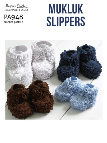 Crochet Pattern Mukluk Slippers Pa948 R Kindle Edition By Maggie
