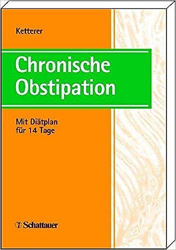 Chronische Obstipation Mit Diatplan Fur 14 Tage Amazon De Hermann