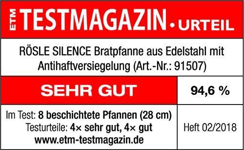/& Bratpfannen Chalet Bratpfanne 28cm Rösle Stiel