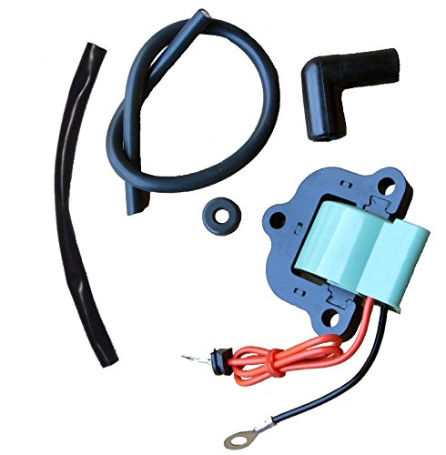 Tungsten Marine Ignition Coil for Some Johnson Evinrude 50-135 HP (Early 1970s) Replaces 502890 ()