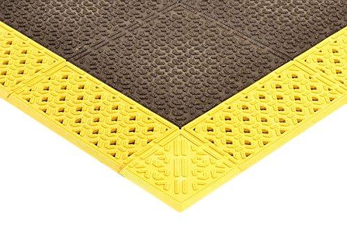 NoTrax 922H4210BY Cushion-Lok W/Grip-Step Heavy Duty 42X120 Yellow, 0.875