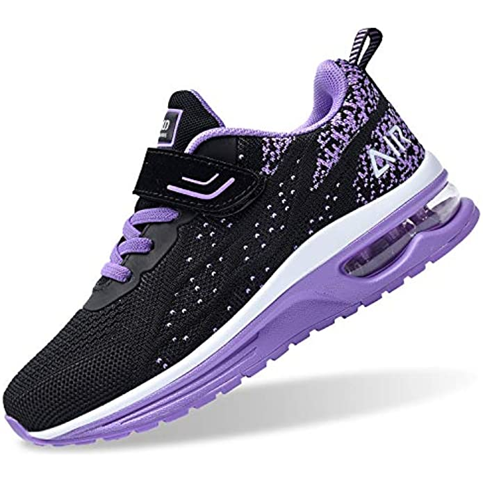 PERSOUL Air Shoes for Boys Girls Kids Children Tennis Sports Athletic Gym Running Sneakers