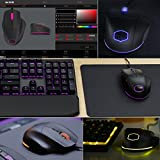 Cooler Master SGM-2007-KLON1 MasterMouse MM520 Claw Grip Gaming Mouse, 7 Buttons, RGB LED 3 Zone Light, On-The-Fly DPI 12000, Lag-Free