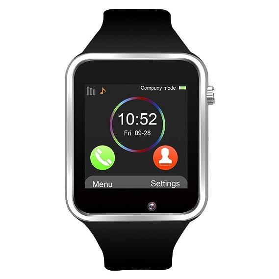 SmartWatch A1 - Teléfono con SIM - Pantalla táctil: Amazon.es: Electrónica