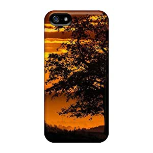 Cynthaskey Case Cover Protector Specially Made For Iphone 5/5s Into The Valleys