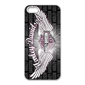 iPhone 5 5s Cell Phone Case White Harley Davidson aod