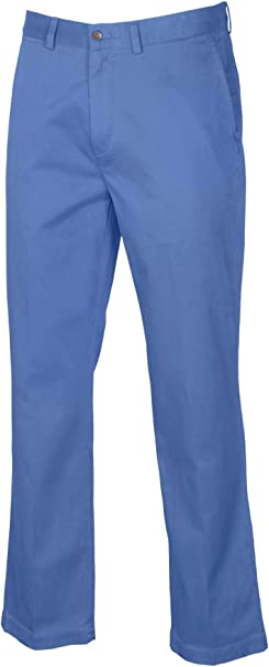 Polo Ralph Lauren Size 34W 34L CLASSIC FIT Blue Chino Pants New Mens Clothing