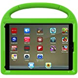 iPad 9.7 2017/2018 Case, iPad Pro 9.7 Case, iPad Air 2 Case, Huaup Kids Shock Proof Handle Light Weight Super Protective Stand Cover Case for iPad 9.7/Pro 9.7/Air 2 Table (Green)