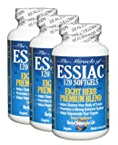 Essiac Tea Softgels, 796 mg, 3 Pack 360 Soft Gels, Eight Herb Essiac Tea, No Brewing, No Refrigeration, Great for Travel, 90 Day Supply