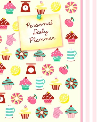 """Daily Candy - Daily Planner - Personal: Day Planner ( Weekly at a glance layout with goals * Start any time of year * 52 spacious weeks * Large softback 8"""" x 10"""" ... & Candy (Daily Planners & Organizers)"""