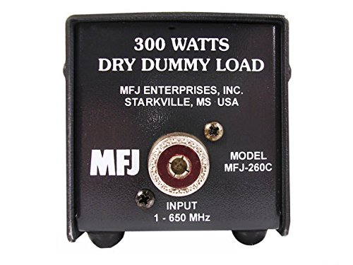MFJ Enterprises Original MFJ-260C Dummy Load, 300 Watt, 0-650 MHz, Dry (Diamond Dummy)