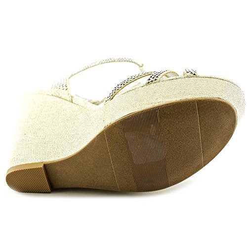 Material Girl Pamper Tessile Sandalo con la Zeppa