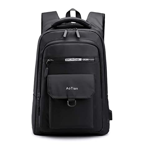 51a1e021b057 Amazon.com: HAI+ Knapsack for Men and Women Fit All 15.6 Inches ...