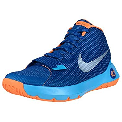 ddd0bffc40b6 Nike Men s KD Trey 5 III Basketball Shoes-Insignia Blue Bright Citrus  Buy  Online at Low Prices in India - Amazon.in