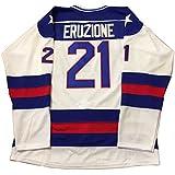 Kooy Mike Eruzione #21 1980 Miracle On Ice USA Hockey Jersey