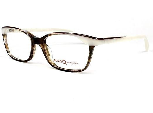 Amazon.com: Etnia Barcelona frame (JENA BRWH) Acetate Havana - White ...