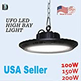 1PACK led UFO high bay light 200W with SMD3030 6500K Industrial light led light waterproof ip65 AC100-277V outdoor lighting led stock in USA
