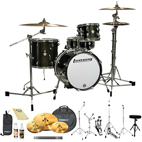 Ludwig Breakbeats by Questlove 4-Piece Pro Drum Set with ...