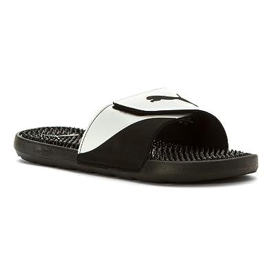 eaf60d695cf7 PUMA Men s Starcat TPR Black White Sandal 11 D ...