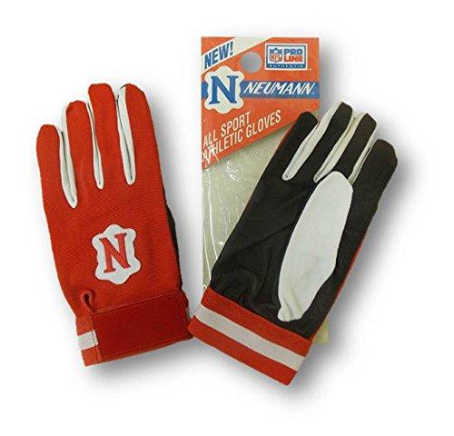 Neumannすべてのスポーツアスレチックグローブレッド/ブラックXXL野球Football B00UI1LGX6