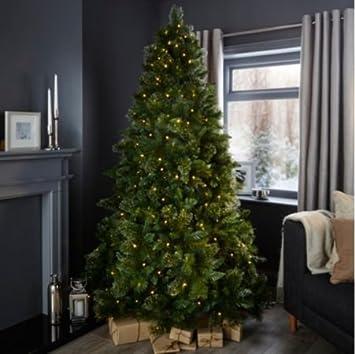 7ft Cleveland Pre-Lit Christmas Tree: Amazon.co.uk: Kitchen & Home