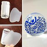 Susenstone® 2.8cm DIY Nail Art Stamping Stamper Scraper Image Plate Transfer Manicure Tool